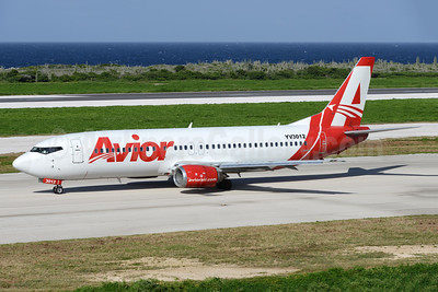 Avior Airlines Boeing 737-401 YV3012 (msn 23990) CUR (Ton Jochems). Image: 940977.