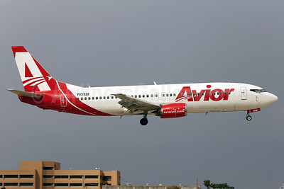 Avior Airlines Boeing 737-401 YV2928 (msn 23885) MIA (Javier Rodriguez). Image: 921266.