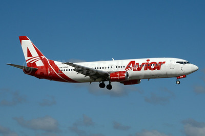 Avior Airlines Boeing 737-401 YV3158 (msn 23984) MIA (Jay Selman). Image: 403408.