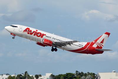 Avior Airlines Boeing 737-401 YV2946 (msn 23886) MIA (Jay Selman). Image: 402608.