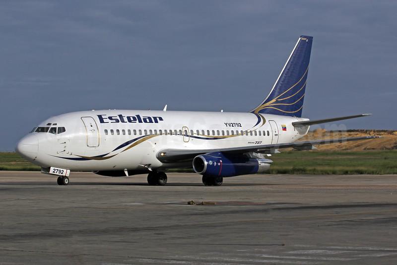 Estelar Boeing 737-2B7 YV2792 (msn 22887) PMV (Orlando Jose Suarez). Image: 924975.