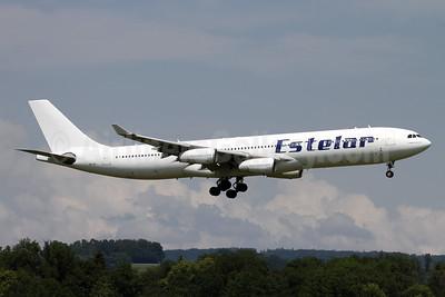 Estelar (Hi Fly Malta) Airbus A340-313 9H-JAI (msn 236) ZRH (Andi Hiltl). Image: 942261.
