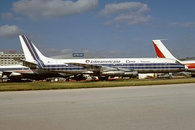 Interamericana Cargo Venezuela McDonnell Douglas DC-8-32 (F) YV392C (msn 45603) MIA (Bruce Drum). Image: 104905.