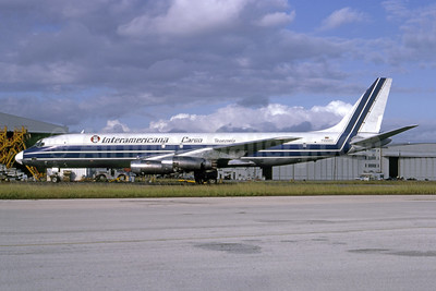 Interamericana Cargo Venezuela McDonnell Douglas DC-8-32 (F) YV392C (msn 45603) MIA (Bruce Drum). Image: 105137.