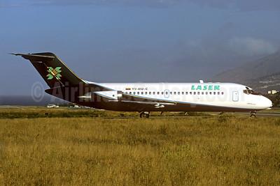 LASER Airlines (Línea Aérea de Servicio Ejecutivo Regional) McDonnell Douglas DC-9-14 YV-852-C (msn 45745) CCS (Christian Volpati). Image: 938538.