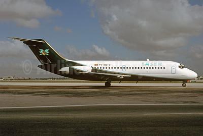 LASER Airlines (Línea Aérea de Servicio Ejecutivo Regional) McDonnell Douglas DC-9-14 YV-852-C (msn 45745) MIA (Bruce Drum). Image: 104506.