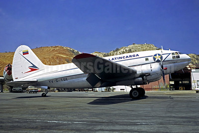 Latin Carga Curtiss C-46A-CU Commando YV-C-TGE (msn 26730) CCS (Christian Volpati). Image: 902146.