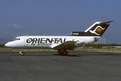 Oriental de Aviación Yakovlev Yak-40 YV-598C (msn 9641450) CUM (Christian Volpati). Image: 953546.