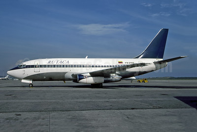 RUTACA Airlines Boeing 737-2S3 YV-216C (msn 21774) (Delta colors) CCS (Christian Volpati). Image: 947054.