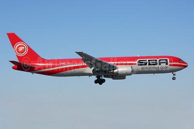 SBA Airlines (sbairlines.com) Boeing 767-3P6 ER YV545T (msn 23764) MIA (Brian McDonough). Image: 925860.
