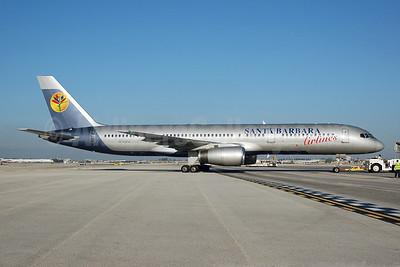 Santa Barbara Airlines (Primaris Airlines) Boeing 757-2G5 N740PA (msn 24497) MIA (Bruce Drum). Image: 100594.