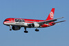 SBA Airlines (sbairlines.com) Boeing 757-21B YV288T (msn 24402) MIA (Brian McDonough). Image: 907588.
