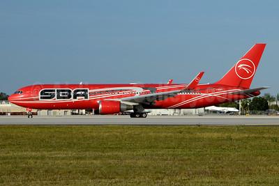 SBA Airlines Boeing 767-3S1 ER WL YV612T (msn 26608) MIA (Jay Selman). Image: 403440.