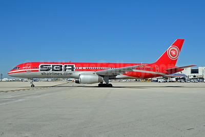 SBA Airlines (sbairlines.com) Boeing 757-21B YV304T (msn 24714) MIA (Bruce Drum). Image: 101186.