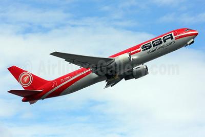 SBA Airlines (sbairlines.com) Boeing 767-3P6 ER YV528T (msn 24349) MIA (Brian McDonough). Image: 925971.