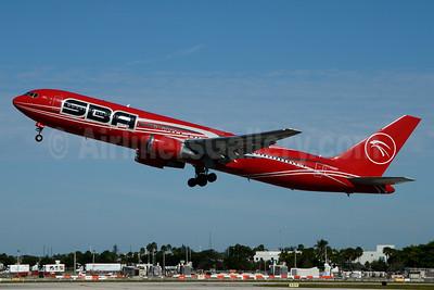 SBA Airlines Boeing 767-3P6 ER YV528T (msn 24349) MIA (Jay Selman). Image: 403439.