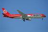 SBA Airlines (sbairlines.com) Boeing 767-3Y0 ER YL-LCZ (msn 25000) MAD (Ariel Shocron). Image: 905326.