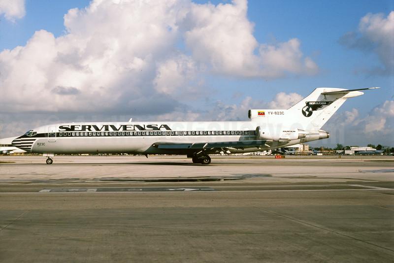 Servivensa Boeing 727-2D3 YV-823C (msn 22269) MIA (Bruce Drum). Image: 104071.