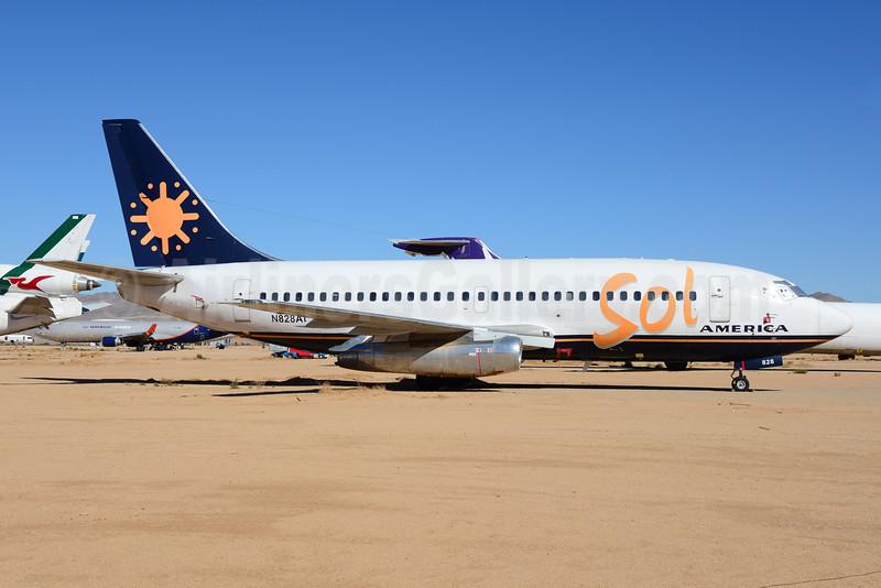 Sol America Boeing 737-236 N828AL (msn 23168) VCV (Ton Jochems). Image: 920970.