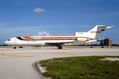 VIASA Venezuela Boeing 727-256 YV-128C (msn 20605) MIA (Bruce Drum). Image: 103958.