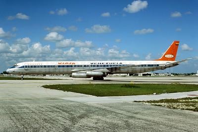 VIASA Venezuela McDonnell Douglas DC-8-63 YV-126C (msn 46063) MIA (Bruce Drum). Image: 103959.