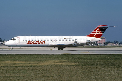 Zuliana de Aviación McDonnell Douglas DC-9-31 YV-459C (msn 47548) MIA (Christian Volpati Collection). Image: 945678.