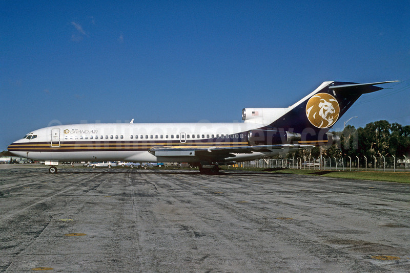 MGM Grand Air Boeing 727-191 N503MG (msn 19392) MIA (Bruce Drum). Image: 102707.