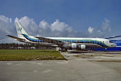 Mackey International Airlines (2nd) McDonnell Douglas DC-8-51 N804E (msn 45411) FLL (Fred Freketic). Image: 954679.