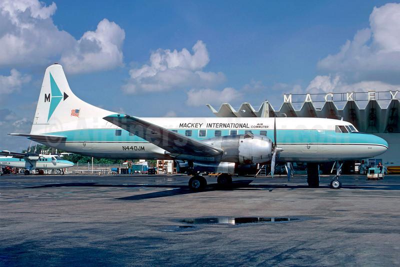 Mackey International Air Commuter (2nd) Convair 440-86 N4440-86 N440JM (msn 434) FLL (Christian Volpati Collection). Image: 909590.