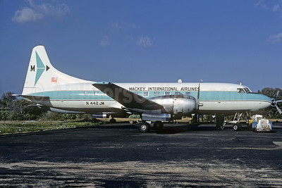 Mackey International Airlines (2nd) Convair 440-86 N442JM (msn 438) FLL (Bruce Drum). Image: 104192.