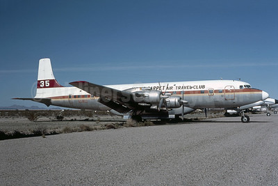 "Magic Carpet Air Travel Club Douglas DC-7C Seven Seas N5903 (msn 45071) ""35"" Buckeye (Bruce Drum Collection). Image: 954795."