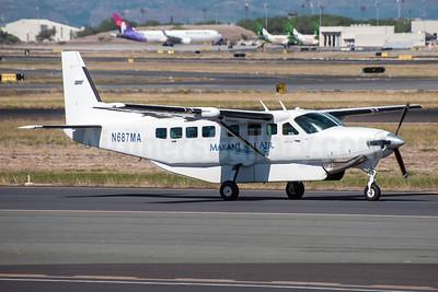 Makani Kai Air Cessna 208B Grand Caravan N687MA (msn 1002) HNL (Ivan K. Nishimura). Image: 921663.