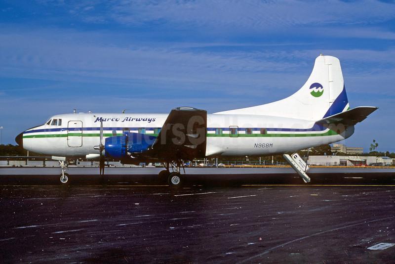 """Marco Airways"" titles"