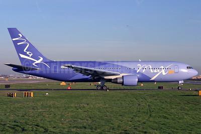 Maxjet Airways Boeing 767-238 ER N770WD (msn 23306) LGW (Antony J. Best). Image: 902562.