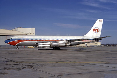 McCulloch International Airlines Boeing 720-023B N7542A (msn 18028) TUL (Ted J. Gibson - Bruce Drum Collection). Image: 946686.