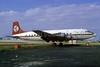 Mercer Airlines Douglas DC-6 N90747 (msn 43052) (Regency Airlines colors) MIA (Bruce Drum). Image: 103741.