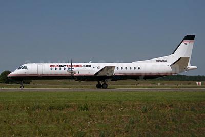 Wild Cat Touring.com (Meregrass Air Charter) SAAB 2000 N813BB (msn 044) IAD (Brian McDonough). Image: 953934.