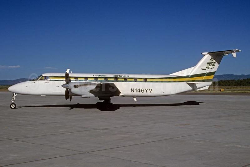 Mesa Airlines Beech 1900C-1 N146YV (msn UC-146) DRO (Bruce Drum). Image: 103742.
