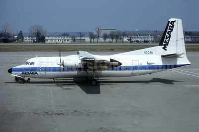 Leased from Brockway Air on January 25, 1988