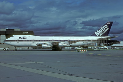 Metro International Airways Boeing 747-212B N748FT (msn 20713) ZRH (Rolf Wallner). Image: 944834.