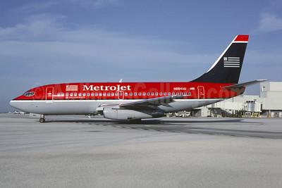 MetroJet-US Airways Boeing 737-2B7 N284AU (msn 23131) MIA (Bruce Drum). Image: 105314.