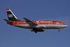 MetroJet-US Airways Boeing 737-201 N259AU (msn 22806) FLL (Bruce Drum). Image: 101079.
