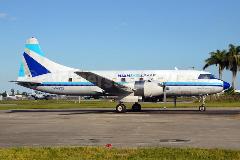 Miami Air Lease Convair 440-72 (C-131E) N41527 (msn 346) OPF (Dave Campbell). Image: 904169.