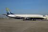 Miami Air International Boeing 737-48E N752MA (msn 28198) (executive colors) MIA (Bruce Drum). Image: 100112.