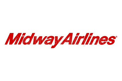 1. Midway Airlines (1st) logo