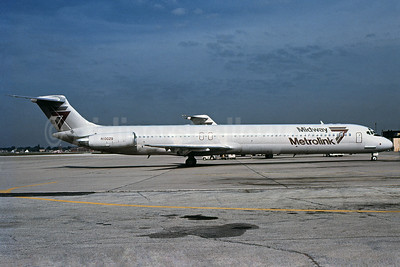 Midway Metrolink McDonnell Douglas DC-9-81 (MD-81) N10029 (msn 48049) MDW (Bruce Drum). Image: 102521.