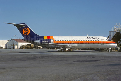 Midway Airlines (1st) Douglas DC-9-15 N1070T (msn 45784) (Christian Volpati Collection). Image: 921227.