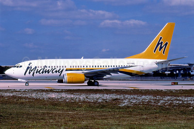 Midway Airlines (2nd) Boeing 737-76N N311ML (msn 30051) FLL (Air 72). Image: 906705.