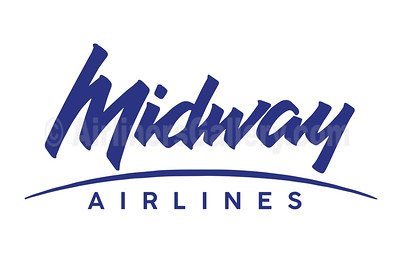 1. Midway Airlines (2nd) logo