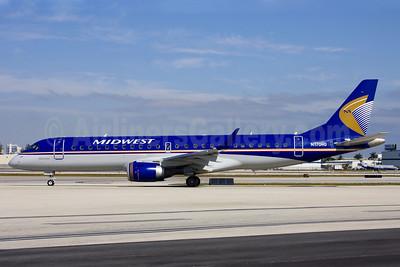 Midwest Airlines-Republic Airlines (2nd) Embraer ERJ 190-100 IGW N170HQ (msn 19000191) FLL (Fernandez Imaging). Image: 906006.